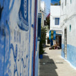 Stock Photo: Artworks in Asilah