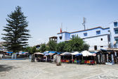 Square in Chefchaouen — Stock Photo