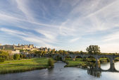Carcassonne skyline — Stock Photo