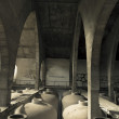 Old wine tanks — Stock Photo