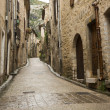 Saint Guilhem le desert street — Stock Photo