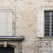 Facade in south of France - Stock Photo