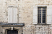 Fassade in südfrankreich — Stockfoto