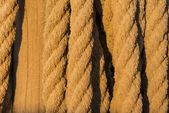 старый веревку деталь — Стоковое фото