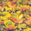 Cooking paella — Stock Photo #27573075