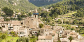 Valldemossa town — Stock Photo