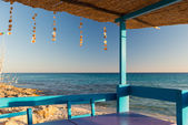 Terrace in Formentera — Stock Photo