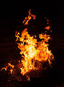 Red flame — Stock Photo