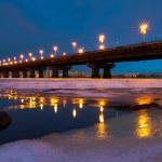 A bridge night scape — Stock Photo