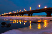A bridge night scape — Stock Photo