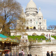 Stock Photo: Вasilicof Sacre-Ceur, Paris, France