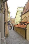 Calle de la vieja praga — Foto de Stock