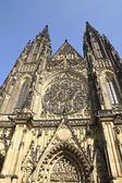 Cathedral of Saint Vita in Prague — Stock Photo