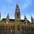 Stock Photo: Vienna. View of Town Hall.