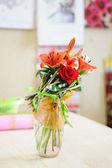 Boeket van bloemen. — Stockfoto