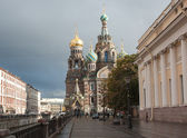 Church of savior on spilled blood St Petersburg — Stock Photo