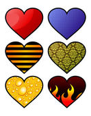Hearts — 图库矢量图片