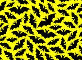 Bat pattern — Stock Vector