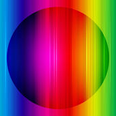 Rainbow abstract background. Vector. — Stock Vector