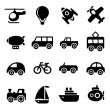Transportation icons — Stockvector #32394587