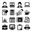 Stock Vector: Office Icons Set