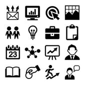 Marketing, SEO and Development icons set — Stock Vector