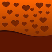 Valentine`s Day abstract background. — Vector de stock