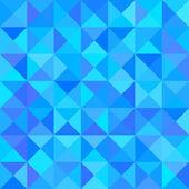 Streszczenie niebieskim tle z kształt trójkąta. wektor — Wektor stockowy