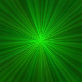 Açık yeşil arka plan ışınları. vektör — Stok Vektör