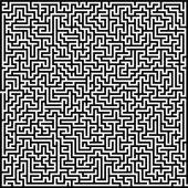 Maze labyrinth — Stock vektor