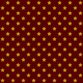 Seamless Stars Pattern in Retro Red. Vector — Stock Vector