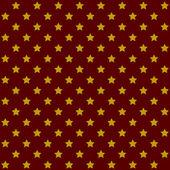 бесшовные звезды шаблон в ретро красный. вектор — Cтоковый вектор