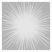 Comics Radial Speed Lines graphic effects. Vector — Stock Vector
