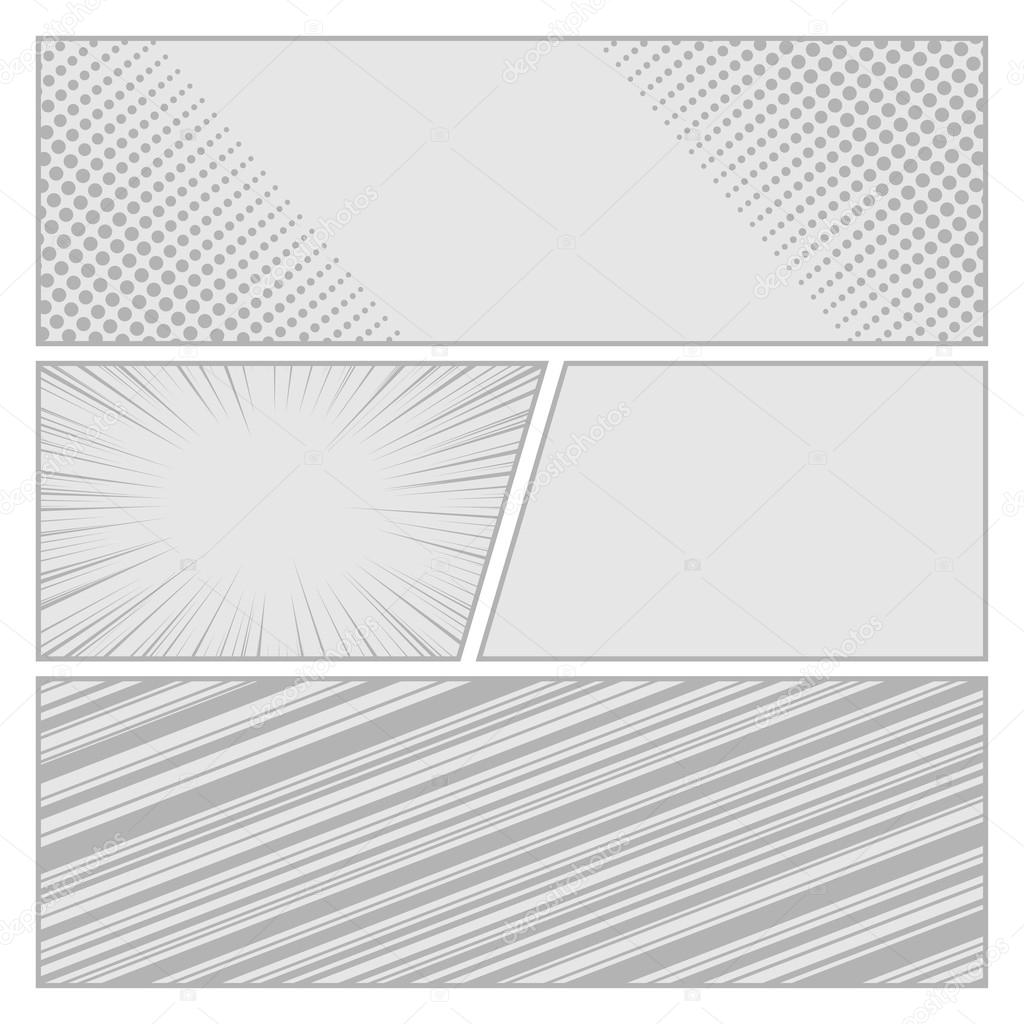 Blank twitter background template