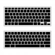 Computer Keyboard Blank Template Set. Vector — Stock Vector #50169625