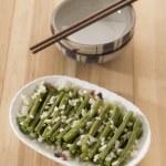 Stir fried long beans — Stock Photo #13866140