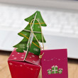 Christmas in office — Stock Photo #14035873