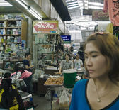 Ruelle rue de Bangkok — Photo