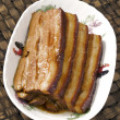 Braised pork belly — Stock Photo