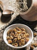 Dried longans — Stock Photo