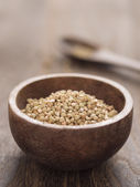 Buckwheat grains — Stock Photo