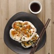 Stock Photo: Chinese scallion pancakes