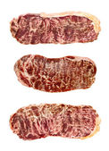 Marbled wagyu beef — Stock Photo