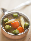 Vegetable soup — Stok fotoğraf