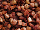 Bacon bits — Stock Photo