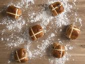 Hot cross buns — Stock Photo