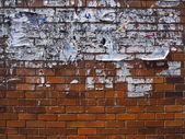 Eski haber duvar — Stok fotoğraf