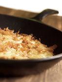 Swiss rosti potatoes — Stock Photo