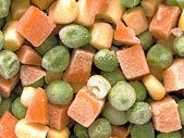 Frozen diced vegetables — Foto de Stock