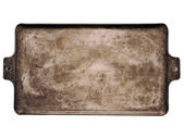 Old rustic baking sheet — Foto de Stock